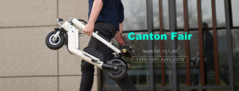 Airwheel electric scooter, Canton Fair 2016