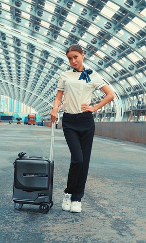 airwheel SE3Mini riding suitcase